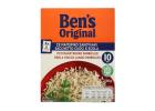 Unle Ben's Parboiled Long Grain Rice in Bag Ready in 10 Minutes 500 g