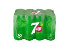 7UP Soft Drink 8x330 ml