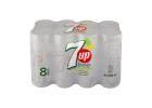 7UP Free Soft Drink 8x330 ml