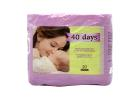 Tender 40 Days 20 Superabsorbent Maternity Pads 20 Pieces
