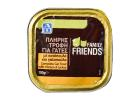 Family Friends Wet Complete Cat Food with Turkey & Chicken 100 g