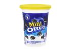 Mini Oreo Flavour Sandwich Biscuits with a Vanilla Flavour Filling 115 g