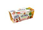 Teddi Organic Whole Milk Yoghurt with Strawberry Puree 2x115 g