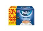 Tetley Black Tea 120 Tea Bags 375 g