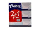 Kleenex Brand Tissues 2+1 Free 150 Pieces
