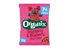 Organix Raspberry and Blueberry Rice Cakes 7+ months 50 g