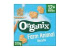 Organix Organic Farm Animal Biscuits 100 g
