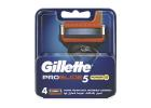 Gillette Fusion Proglide Power Shaving Blades 4 Pieces