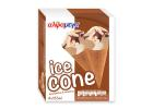 Alphamega Ice Cone Vanilla & Chocolate 4x135 ml
