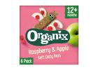 Organix Raspberry & Apple Soft Oaty Bars 12+ Months 6x30 g