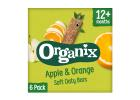 Organix Apple & Orange Soft Oaty Bars 12+ Months 6x30 g