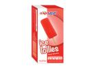 Alphamega Strawberry Flavored  Water Ice Lollies 4x83 ml