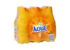 Loux Carbonated Orange Juice Drink 6x330 ml