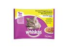 Whiskas Pouch Cat Food in Jelly Poultry Selection 4X100 g