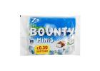 Bounty Mini Moist Tender Coconut Covered in Thick Milk Chocolate in a Bag 227 g