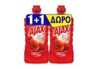 Ajax Red Flowers Multi-Surface Cleaner 1+1 Free 1 L