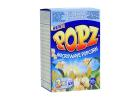 Popz Microwave Popcorn Slightly Salted 50% Less Fat 240 g