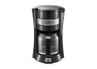 Delonghi Filter Coffee 900 Watt, 10 Cups Capacity, Glass Jar CE