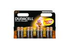 Duracell Plus Power Batteries AA 8 Pieces