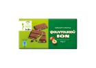 Ion Stevia Milk Chocolate with Hazelnuts 60 g
