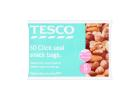 Tesco Click & Seal Small Snack Bags 50 Pieces
