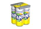 Fanta Lemonade Zero Soft Drink with Steviα 4x330 ml