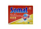 Somat All-in-1 Detergent Dishwasher Tablets 27 Tabs 486 g