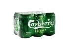 Carlsberg Beer Tin 6X330 ml