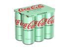 Coca Cola with Stevia Soft Drink 6x330 ml