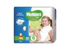 Huggies Freedom Dry Baby Diapers Junior Nο6 30 Pieces