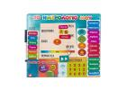 Educational Magnets Calendar Magnets 45 3+ Years CE
